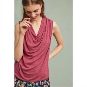 Anthropologie Akemi + Kin • Drape Sleeveless Top